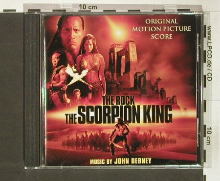 Scorpion King,The: Original Soundtrack, Universal(), EU, 2002 - CD - 53599 - 7,50 Euro