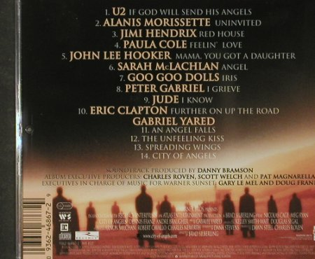 City Of Angels: Music From, 14 Tr. V.A., WB(), D, 1998 - CD - 53681 - 7,50 Euro