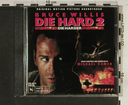 Die Hard 2: Die Harder, Varese(), D, 1990 - CD - 53963 - 10,00 Euro