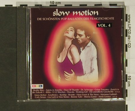 V.A.Slow Motion Vol.4: 18 Tr.,Pop-Balladen d.Filmg., BMG(), D, 94 - CD - 53981 - 4,00 Euro