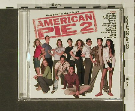 American Pie 2: Music from 15 Tr. V.A., Universal(), EU, 01 - CD - 54047 - 5,00 Euro