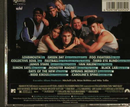 Varsity Blues: V.A.15 Tr, Hollywood(), D, 98 - CD - 54278 - 4,00 Euro