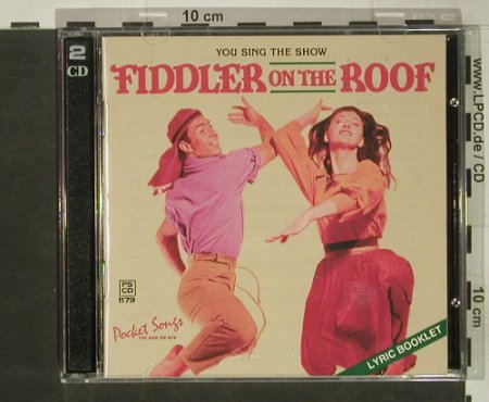 Fiddler On The Roof: You sing the Show - Karaoke, Pocket Song(), US, 1997 - 2CD - 54343 - 10,00 Euro