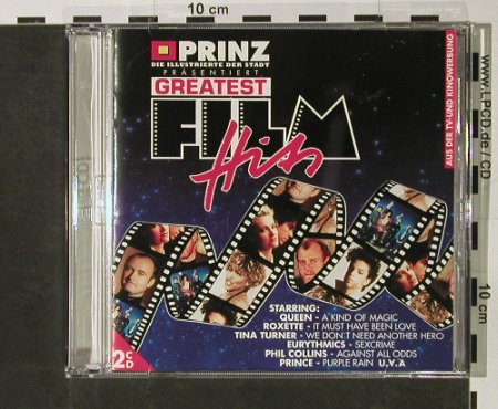 V.A.Greatest Film Hits: 31 Tr., Electrola(7 89438 2), D, 1993 - 2CD - 54375 - 5,00 Euro