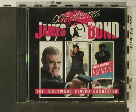 James Bond-007 Themes: Hollywood Cinema Orchestra,16 Tr., BR Music(18005 CD), S,  - CD - 54463 - 4,00 Euro