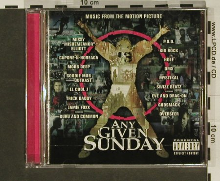 Any Given Sunday: V.A.16Tr., WB(), D, 99 - CD - 54597 - 4,00 Euro