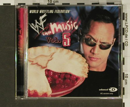 V.A.World Wrestling Federation: The Music Vol.5, Koch(), D, 01 - CD - 54751 - 4,00 Euro