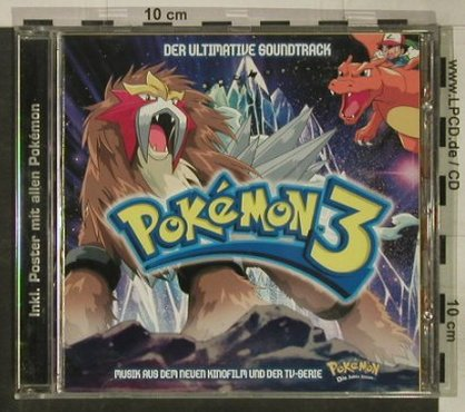 Pokemon 3: Der Ultimative Soundtrack, Koch(), D, 2001 - CD - 54764 - 2,00 Euro
