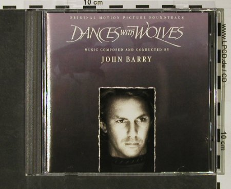 Dance With Wolves: M.by John Barry, Epic(467591 2), A, 1990 - CD - 54984 - 7,50 Euro