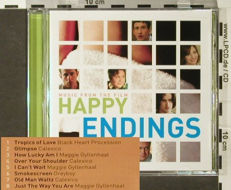 Happy Endings: Music from The Film, V.A., Ryko(), EU, 2006 - CD - 55051 - 5,00 Euro