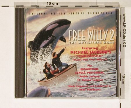 Free Willy 2: V.A.11 Tr, Epic(), A, 95 - CD - 55109 - 5,00 Euro