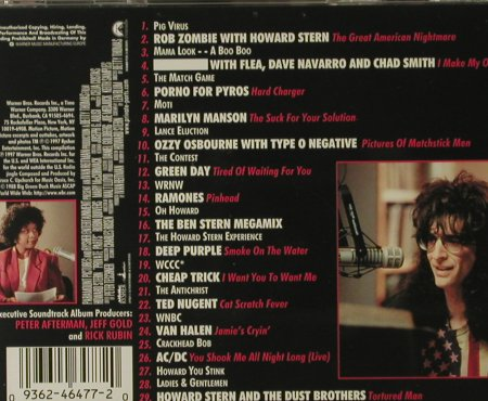 Howard Stern: Private Parts:The Album, WB(), D, 97 - CD - 55282 - 4,00 Euro