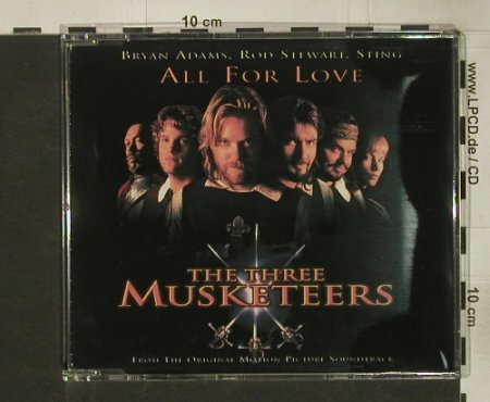 Three Musketeers: Bryan Adams,Stewart,Sting-4Tr., AM(), , 1994 - CD5inch - 55437 - 1,50 Euro