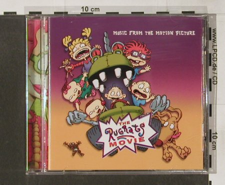 Rugrats Movie: Musik from the Motion Picture, Maverick(IND 90181), EU, 98 - CD - 55753 - 2,50 Euro
