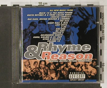 Rhythm & Reason: 15 Tr. V.A., Priority(), NL, 1997 - CD - 55843 - 7,50 Euro