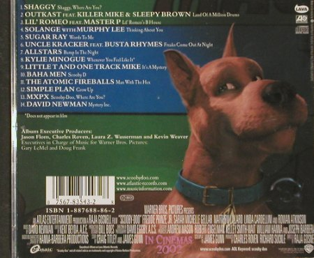Scooby-Doo: Music From, WB(), US, 2002 - CD - 56086 - 2,00 Euro