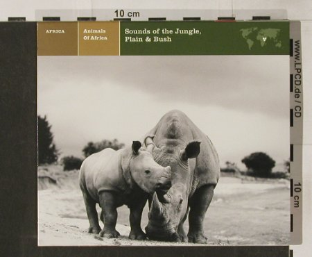 V.A.Animals Of Africa: Sounds Of,Jungle,Plain&Bush,12 Tr, Nonesuch(), US, 73 - CD - 56087 - 5,00 Euro