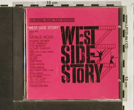 West Side Story: orig.Soundtr.Recording, CBS(), NL, 1965 - CD - 56090 - 7,50 Euro