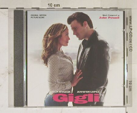 Gigli: 19 Tr. Comp. By John Powell, Varese(), D, 03 - CD - 56248 - 10,00 Euro