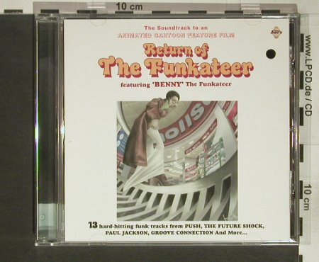 Return of the Funkateer: V.A.13 Tr., co, Papa Joe's Rec.(), UK,  - CD - 56868 - 7,50 Euro