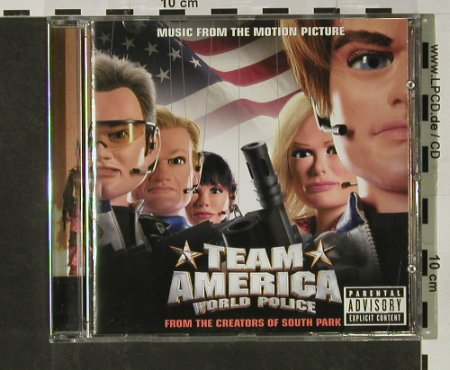 Team America: Music From, Atlantic(), EU, 2004 - CD - 56872 - 7,50 Euro