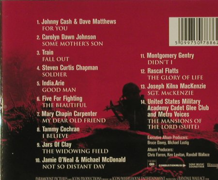 We Were Soldiers: Music From, Columbia(), A, 02 - CD - 56930 - 5,00 Euro
