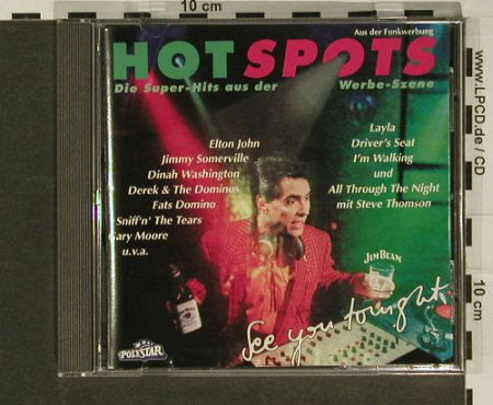 V.A.Hot Spots: 16 Tr., Polystar(), D, 92 - CD - 56972 - 4,00 Euro