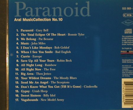 V.A.Paranoid: Aral Music Collection No.10, Polymedia(), , 1998 - CD - 57144 - 3,00 Euro
