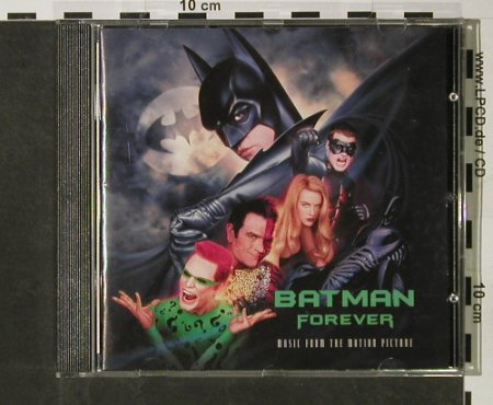Batman Forever: Music From, Atlantic(), D, 1995 - CD - 57519 - 5,00 Euro