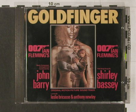 Goldfinger: 10 TR. By John Barry,S.Bassey, Dynamic(), EEC, 1992 - CD - 57557 - 5,00 Euro