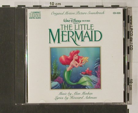 The Little Mermaid: Original Soundtrack, Alan Menken, Disney(018), US, 89 - CD - 57638 - 10,00 Euro