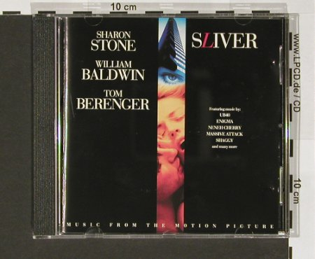 Sliver: Music From, Virgin(CDVmm11), NL, 1993 - CD - 57940 - 5,00 Euro