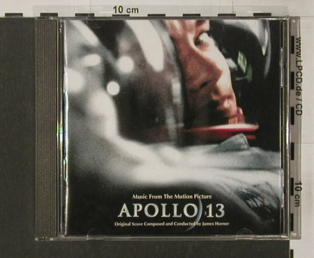 Apollo 13: Comp.+ Cond.by James Horne,23Tr., MCA(), EEC, 95 - CD - 58001 - 7,50 Euro