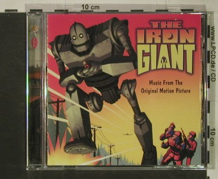 Iron Giant (The): Music From, 14 Tr. V.A., Rhino/WB(), D, 1999 - CD - 58057 - 4,00 Euro