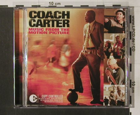 Coach Carter: Music from the Motion Picture,V.A., EMI(), EU,14Tr., 2004 - CD - 58174 - 7,50 Euro