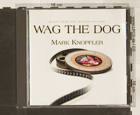 Wag The Dog: M.by Mark Knopfler, Vertigo(), , 98 - CD - 58807 - 7,50 Euro