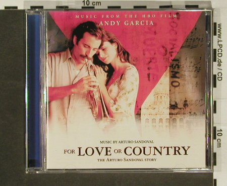 For Love or Country: 12Tr.,by Arturo Sandoval, Atlantic(), D, 00 - CD - 58809 - 5,00 Euro