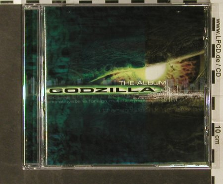 Godzilla: The Album V.A.15 Tr, Epic(), D, 1998 - CD - 59397 - 5,00 Euro