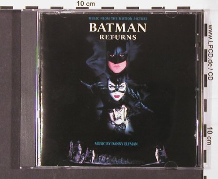 Batman: Returns, Music by Danny Elfman, WB(), D, 1992 - CD - 59772 - 7,50 Euro