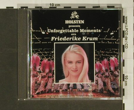 Krum,Friederike: Unforgettable Moments,Holsten, Krum/Hettw(), D, 92 - CD - 59814 - 4,00 Euro