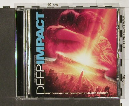 Deep Impact: Music From,12 Tr. By James Horner, Sony(), A, 98 - CD - 59979 - 7,50 Euro