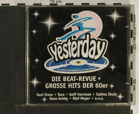 Yesterday: Die Beat-Revue, V.A., Megaphon(758.0046.2), D, 1998 - CD - 60107 - 5,00 Euro