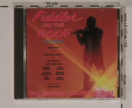 Fiddler On The Roof: Original Broadway Cast, Duchesse(), EEC, 90 - CD - 60157 - 4,00 Euro