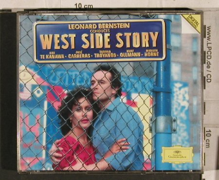 West Side Story: Bernstein cond., D.Gr.(), D, 85 - 2CD - 60302 - 10,00 Euro