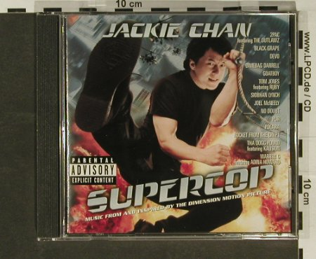 Supercop: 15 Tr. V.A. - Jackie Chain, MCA(), , 96 - CD - 60410 - 5,00 Euro