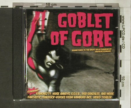 Goblet of Gore: 14 Tr. (Splattermovie), mata hari(), D, 2004 - CD - 60481 - 7,50 Euro