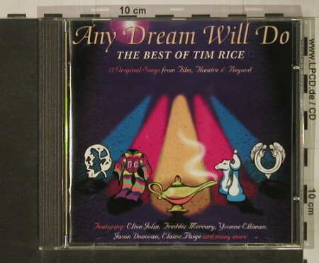 Any Dream Will Do: The Best of Tim Rice,V.A., MCA(), D, 1994 - CD - 60625 - 5,00 Euro