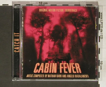 Cabin Fever: comp. By N. Barr/Angelo Badalamenti, Lions Gate(), , 2003 - CD - 60852 - 7,50 Euro