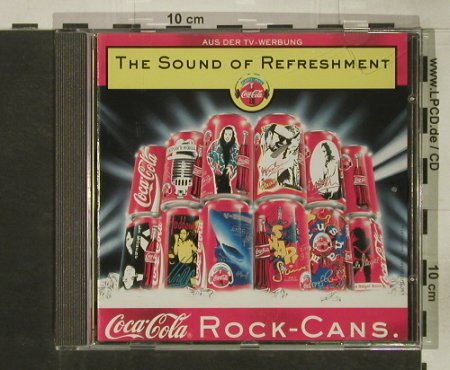 V.A.Sound Of Refreshment: 12 Tr. Coca Cola Rock-Cans, BMG(74321 30953 2), D, 1995 - CD - 60892 - 5,00 Euro