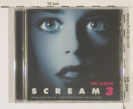 Scream 3: The Album, 18Tr. (BlueCover), Epic(), EU, 00 - CD - 61238 - 7,50 Euro